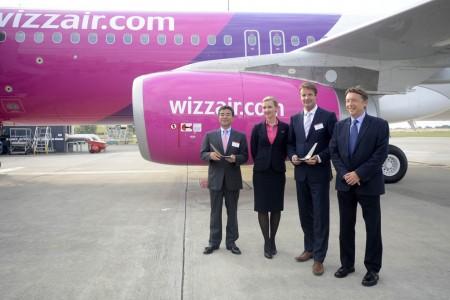 Wizz Air ha recibido el A320 número 50.