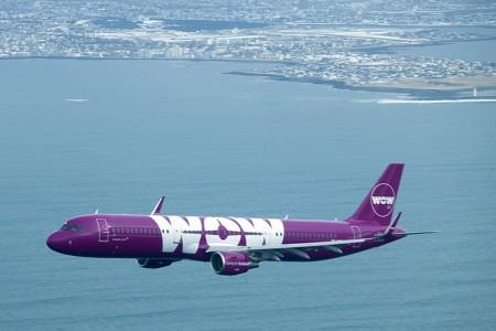Wow Air cuenta ya con cinco A321 en su flota además de A320 y A330.